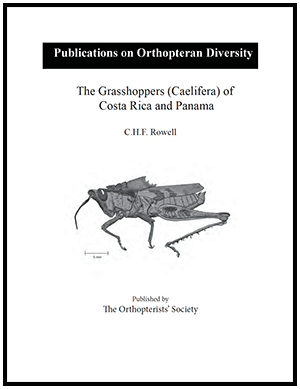 The Grasshoppers (Caelifera) of Costa Rica and Panama