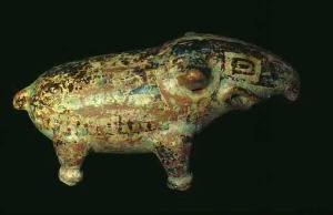 Tapir indian arch pottery