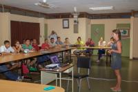 Taller sobre tortugas marinas del Pacífico Norte de Costa Rica para guías turísticos locales