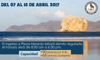 Horario Playa Naranjo Sector Santa Rosa (Parque Nacional Santa Rosa)