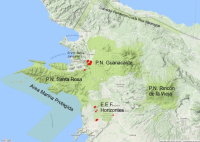 Incendios Forestales temporada 2017 en Área de Conservación Guanacaste